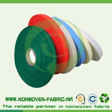 Rolo não tecido girado personalizado da tela do polipropileno bond