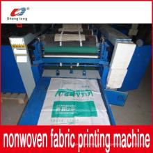 China Lieferant PP Kunststoff Non Woven Stofftasche Druckmaschine Neu eingetroffen