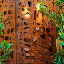 Decorative Laser Cutting Metal Screen Outdoor