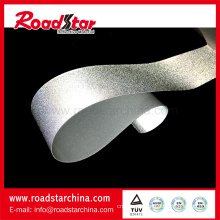 Safety reflective high stretch fabric for glove