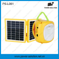 Mini lanterne solaire avec chargeur de téléphone portable pour camping ou d'urgence (PS-L061)