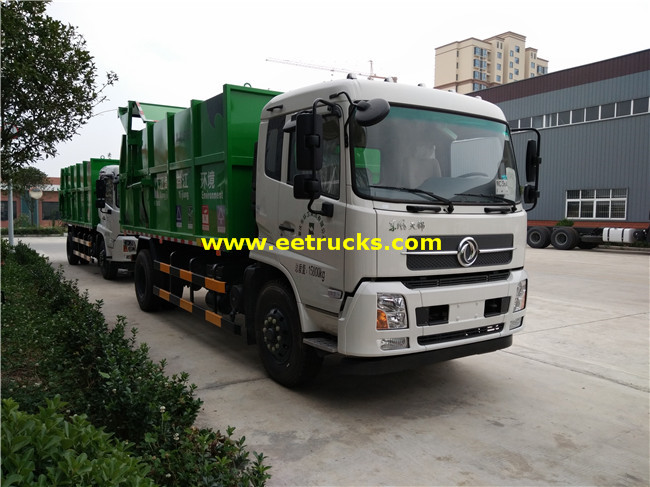 8T Docking Refuse Collector Trucks