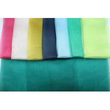 Plain Color Wedding Decor Fabric Organza Crystal