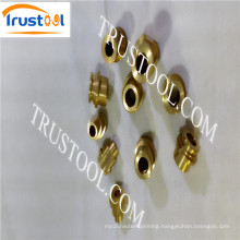 Machined Manufacturing Machined Copper Part OEM Factory