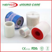 Fita cirúrgica adesiva (não tecida, PE, tecido de algodão ou seda)