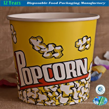 Large Paper Popcorn Serving Tub