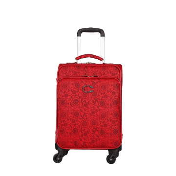 waterproof PU luggage travel women luggage