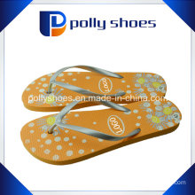 New Authentic Basic Rubber Logo Thong Flip Flop Shoe