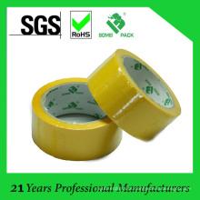 Venda quente amarelo colorido BOPP fita de embalagem