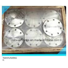 DIN2527 F304L Bl Flange de aço inoxidável Flange cego