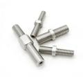 Pieza conjunta de mecanizado de precisión de acero inoxidable personalizado