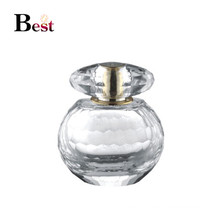 new design 60ml bulb shape personalized perfume bottle crystal unique perfume glass bottle chinese supplier