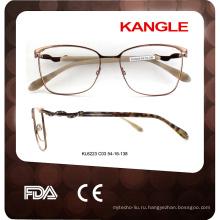 2017 новый стиль горячие металлические очки оптические рама очки стекло рамки