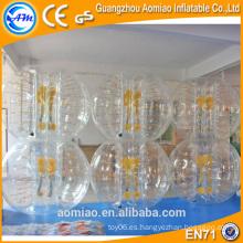 Bola de parachoques inflable del cuerpo para la bola del adulto / del amortiguador para los cabritos / bola de la burbuja para la venta