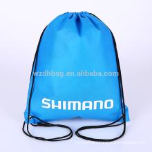 Reusable Hot Sale Custom Wholesale Non Woven Drawstring Backpack Bag Shopping Tote Bag Promotion