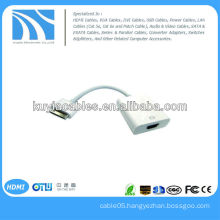 Dock Connector to HDMI 1080P HDTV Cable Adapter FOR Apple iPad iPad 2 iPad 3