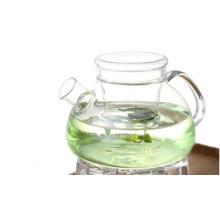 Стеклянный чайный горшок с кулинарной термостойкостью с настойкой