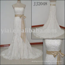 2010 Latest Most Stunning new real wedding gown