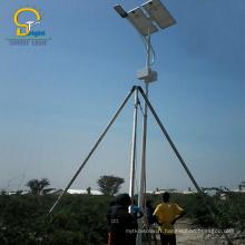 Lampadaire LED solaire imperméable à l'eau de niveau IP65
