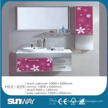 Hot Sell Stainless Steel Bathroom Vanity with Mirror