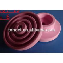 anillo de cerámica de zirconia de alúmina color rosa blanco amarillo negro
