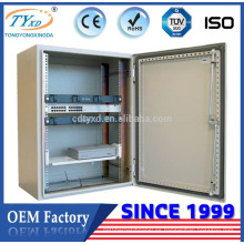 Caja de panel de distribución eléctrica de metal impermeable de montaje en pared Hsinda Cabinet