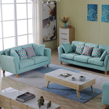 Reversible Fabric Pillow Sectional Soffa Chaise