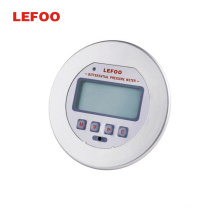 LEFOO Wall Mounted LCD Air Differential Pressure Transmitter Low Differential Pressure Transducer