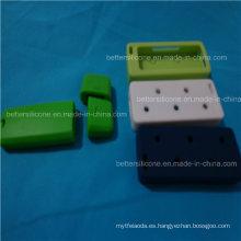 Router multinivel del organizador del alambre del cable del silicón
