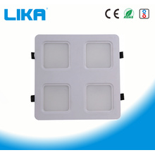 48W Parrilla de cuatro cabezas Led Panel light