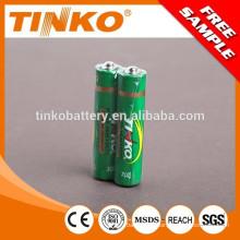 Carbon zinc battery with MSDS,CE ,SGS certificates