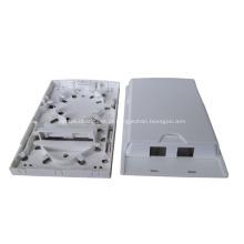 2 portas de fibra de distribuição interna de fibra óptica de tomada