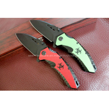 Alumínio Handle Camping Knife (SE-0526)