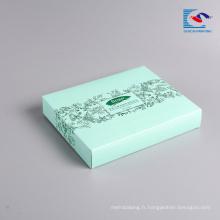 Échantillon gratuit en gros emballage masque visage boîte de papier cosmétique avec impression LOGO