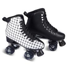 Soft Boot Quad Roller Skate para Adultos (QS-45)