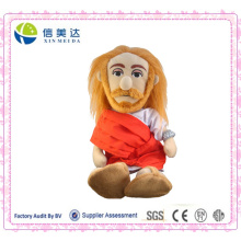 Exquisite 3D Jesus Christus Plüsch Little Thinker Doll