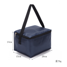 Extra Large Bolsa Termico Thermal Bag Insulation Bag Picnic Lunch White Foil Non Woven Thermal Cooler Bag For Food
