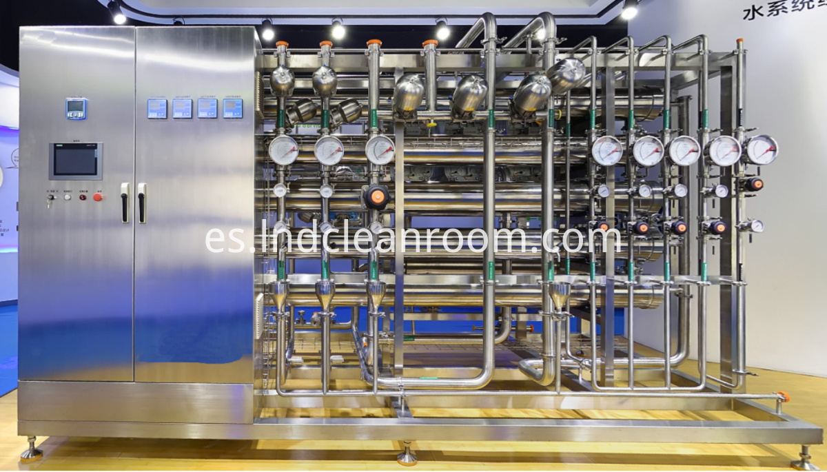 Purified water injection equipment