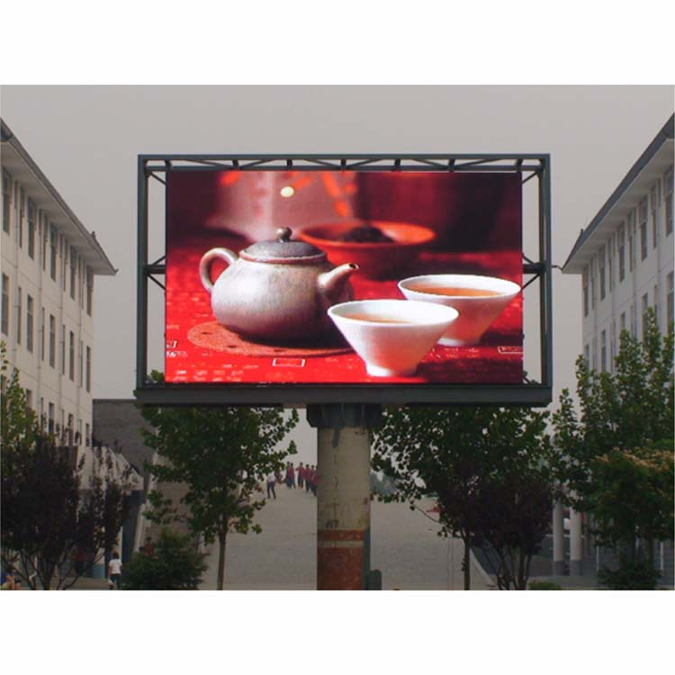 Outdoor P4 Led Display Single Double Stand