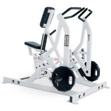 Equipamento de fitness placa carregado de força de martelo Iso-Lateral remo