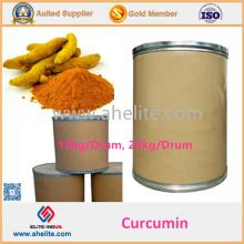 Extrato de raiz de cúrcuma 95% pó de curcumina