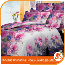 Hot sell 3d design bed sheet set with good price