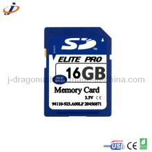 OEM Full Real Capacity 16GB SD Memory Card (JSD019)
