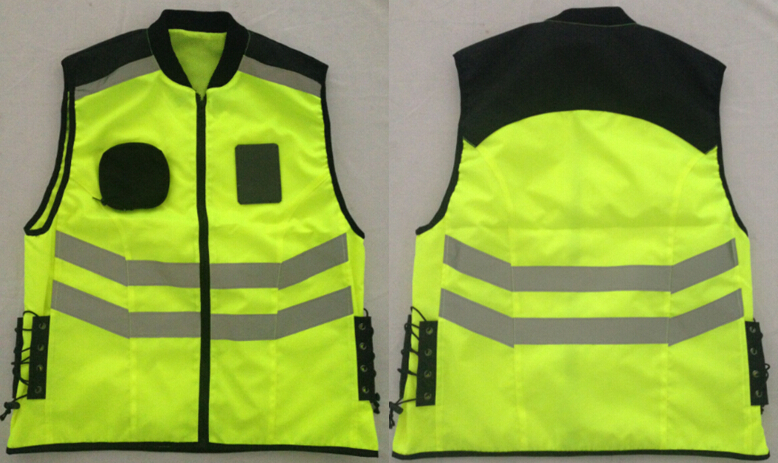 Fashionable Design Reflecting Motorcycle Vest