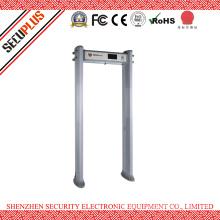 IP55 Waterproof Elliptical Plastic Material Walk Through Metal Detector Gate