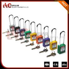 Elecpopular Zhjiang Wenzhou Long Metal Schäkel Safe Lock OEM Keyed Alike Vorhängeschloss