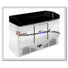 R315 3 puertas Static Cooling Pizza Prep Station