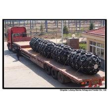 Diâmetro 1700mm x Comprimento 3000mm Fender pneumático