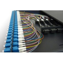 1U 24 Port Panel Fiber Optic Patch ODF