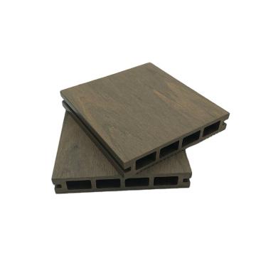UV resistant 3D embossed  composite wpc floor decking pest-resistant outdoor garden floor